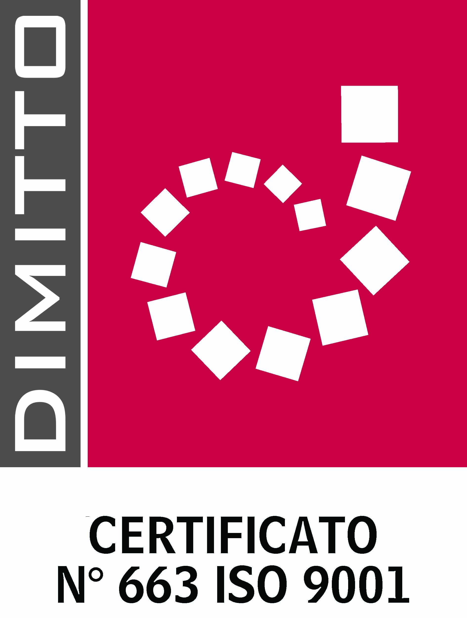 certificazione iso 9000 dimitto
