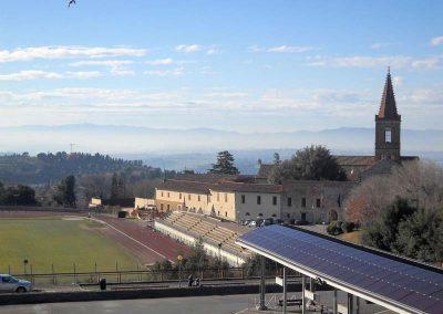 Santa Giuliana-veduta dalla scuola