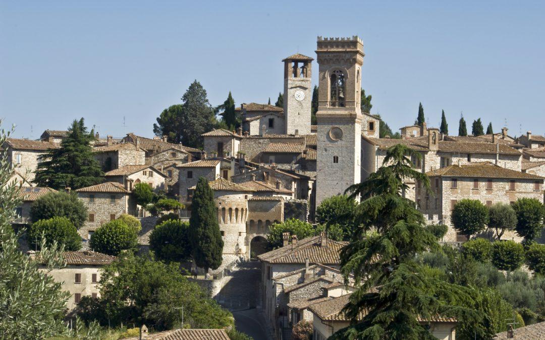 Luoghi dell'Umbria: Chiesa e Convento di Sant'Agostino a Corciano