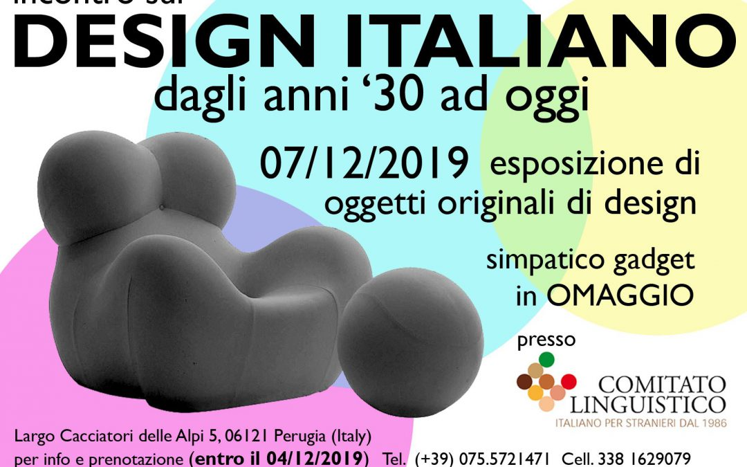 Incontro sul design italiano – dagli anni '30 ad oggi