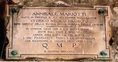 Personaggi di Perugia: Annibale Mariotti