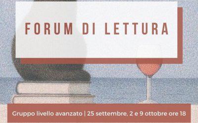 Forum di lettura livello avanzato